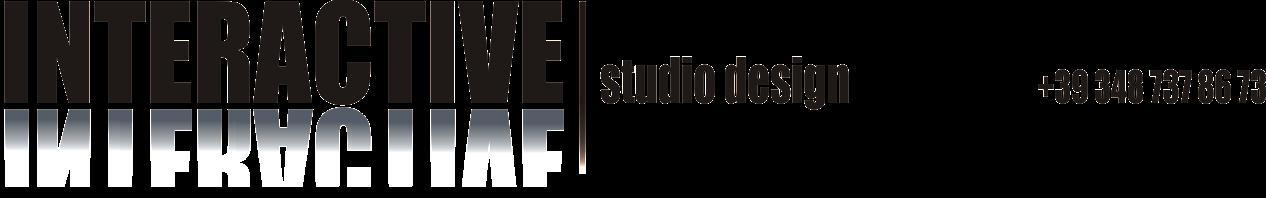 interactive studio design logo con telefono